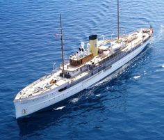 "SS ""Delphine"" 1921 steam-yacht, length 78m"
