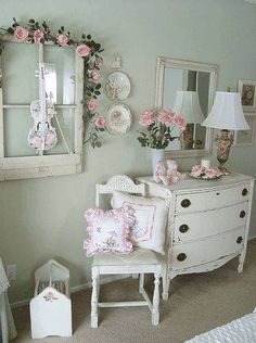 bedroom inspiration vintage bedroomsshabby chic - Shabby Chic Decor Bedroom