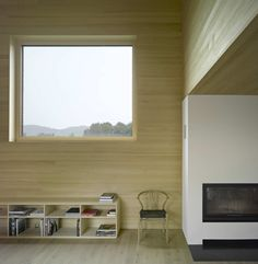Image 4 of 11 from gallery of Wooden House with an Inner Courtyard / DI Bernardo Bader. Photograph by DI Bernardo Bader