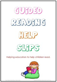 Guided Reading Help Slips - Strategy and Skill Reminders - PDF file    3 page resources (not including instruction page).    Includes instructions.    Print, cut and use these slips after each guided reading session to focus on children's challenges.    These slips will help children make goals by having a concrete notion of what they need to focus on. http://www.teacherspayteachers.com/Product/Guided-Reading-Help-Slips-Strategy-and-Skill-Reminders-3-pages