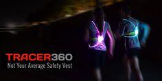LED running vest (adding in a red/white/blue option for Team RWB!)