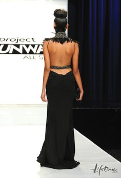 michael costello --- project runway all-stars 2 --- episode 2 --- january 12, 2012 --- night at the opera evening gown challenge (luv the back)