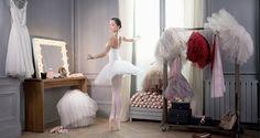Discover the advertising campaign for the Eau de Parfum Repetto with Dorothée Gilbert, Prima Ballerina / Photographer : James Bort