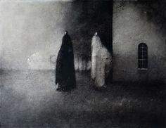 Syksy / Fall  Akryyli kankaalle / Acrylic on canvas, 2011  70 x 90 cm  Valokuva / photo: Timo Sälekivi
