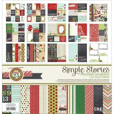 "SS December Documented Collection Kit 12""X12"""
