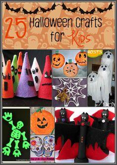 25 Halloween Crafts for Kids |
