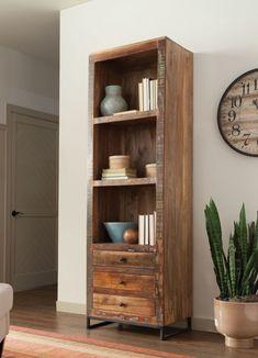 OCFurniture - Coaster 800819 Reclaimed Teak Acacia Wood Bookcase, $829.00 (http://www.ocfurniture.com/coaster-800819-reclaimed-teak-acacia-wood-bookcase/)