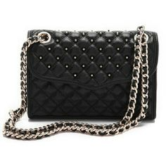 NWOT Rebecca Minkoff Mini Quilted Affair New never used Rebecca Minkoff mini quilted affair. Black soft leather with silver studs, chain, and hardwear. Chain can be worn as crossbody or doubled to be worn as shoulder bag. Magnetic snap closure. Rebecca Minkoff Bags Crossbody Bags