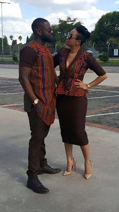 The most trendy and beautiful ankara styles and designs outfit for couples compilation. These ankara designs for couples were particularly selected for you and your partner. African Fashion Designers, African Fashion Ankara, Ghanaian Fashion, Latest African Fashion Dresses, African Dresses For Women, African Print Dresses, African Print Fashion, African Attire, African Wear