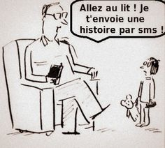 i'll text you a story! French Teaching Resources, Teaching French, Funny School Jokes, School Humor, How To Speak French, Learn French, High School French, French Cartoons, Funny French