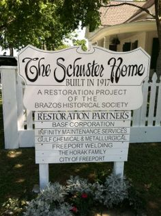 Schuster Home Museum in Freeport, Texas. Historical Society, Historical Sites, Freeport Texas, Brazoria County, Visit Texas, Lake Jackson, Surfside Beach, Mystery Of History, Texas History