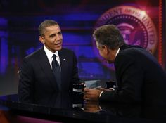 403 On 'Daily Show with Jon Stewart,' Obama defends Libya response, jokes about Biden    Video: President Obama's appearance on The Daily Show with Jon Stewart took a serious turn when the President discussed the fatal attack on the US Consulate in Benghazi, Libya. Obama said when something goes wrong, his job is to fix it.  By David Nakamura, Published: October 18
