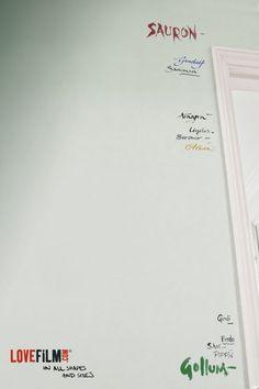 LOVEFiLM: Lord of the Rings Advertising Agency: 18 Feet & Rising, UK Executive Creative Director: Matt Keon Art Director: Johnny Leathers Aragorn, Gandalf, Legolas, Arwen, Thranduil, Lotr Characters, J. R. R. Tolkien, O Hobbit, One Ring