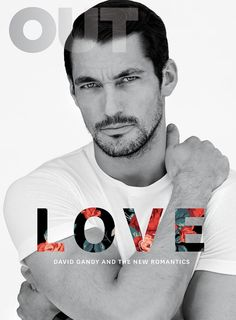 David Gandy for Out Magazine February 2015. Photographed by Blair Getz Mezibov. Styling by Grant Woolhead. Hair and grooming by Larry King.