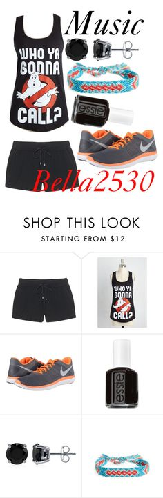 """""""Inspired by @bellat2530"""" by muslc ❤ liked on Polyvore featuring Juvia, NIKE, Essie, BERRICLE and Half United"""