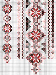 Gallery.ru / Фото #2 - схемы для вышиванок - zhivushaya