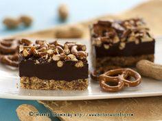 Peanut Butter Fudge Pretzel Bars