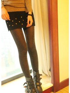 Rivets Adorned Strips Woolen Skirt Black Ruffle Skirt, Dress Skirt, Latest Fashion For Women, Mini Skirts, Stylish, Cotton, Stuff To Buy, Clothes, Black