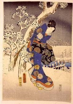 L'estampe japonaise et son maître : Utagawa Hiroshige « ღ♥ღ Les Arts ღ♥ღ