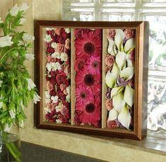 Floral Tiers - bouquet preservation