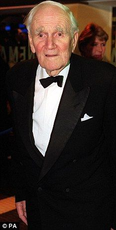 Famous PoW: Desmond Llewelyn resumed his acting career after five years in Colditz and achieved fame as Q in the James Bond films