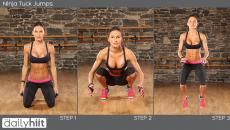 The Daily Hiit - Hiit stands for High Intensity Interval Training. It's the best way to burn fat and reshape the body. Our program is called the daily hiit because we do a new hiit workout with you everyday