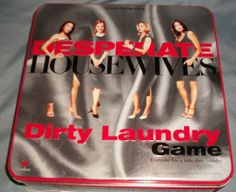 New Desperate Housewives Dirty Laundry Board Game Tin Box | eBay $3.99