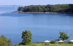 Maine Oceanfront Hotel and Lodging Directory. From York to Bar Harbor, discover the beauty of Maine's coast for a memorable Maine vacation. Damariscotta Maine, Seaside Inn, Monhegan Island, East Coast Beaches, Hotels And Resorts, Lodges, Geography, How To Memorize Things, Strawberry Hill