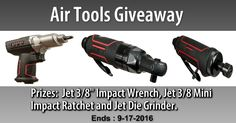 Help me Win These Awesome Air Tools from @SweepsAdvantage