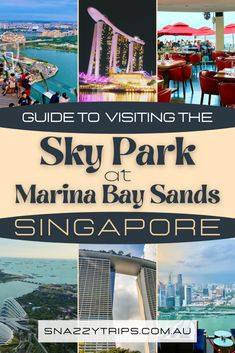 How To Visit The Amazing Marina Bay Sands Roof Top 22 Sands Singapore, Singapore Travel, Luang Prabang, Travel Guides, Travel Tips, Travel Goals, Laos, Cruise Excursions, Backpacking Asia