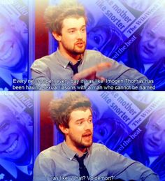 Jack Whitehall! Those celebs you love because of there knowledge of HP!