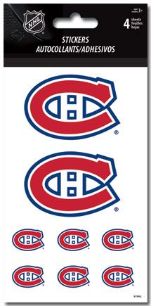 Montreal Canadiens Stickers