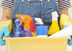 Earth Day is this Friday, so now might be a good time to double check the safety of your cleaning products. You can use the Environmental Working Group's Guide to Healthy Cleaning to find out how your current cleaning products rate. #greencleaning #EWG