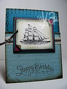 The Open Sea Birthday « Yvette's Paper Garden