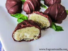 Vegan Vanilla Mint Chocolate Eggs | Fragrant Vanilla Cake
