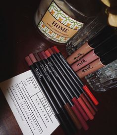 Beauty Mail from @jolisarena✨  Complete your makeup kit with our exclusive lip liner collection from dark tones to light nudes and our favorite extreme lip gloss collection ✨ www.sarahleecosmetics.com  #ilovemakeup #selfie #happyholidays #kiss #mac #beautybrands #beautyessentials #lips #lipstick #lipliner #eyeshadow #cosmetics #fall2015 #fallmakeup #fallmakeuplook #fallmakeuptrends #sarahleecosmetics