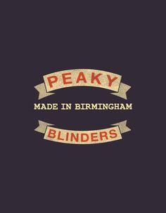 Peaky blinders matchbox set