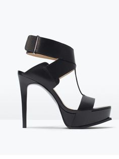 High heels by zara.