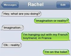 Lol this is totally a conversation I would have with my bestie
