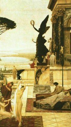 The Theatre at Taromina ~ Gustav Klimt, 1886-88