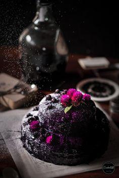 Blueberry Ube Moist Cake | FOOD PHOTOGRAPHY Cake Photography, Ube, Moist Cakes, Blueberry, Cupcakes, Fruit, Kuchen, Lifes Too Short, Berry