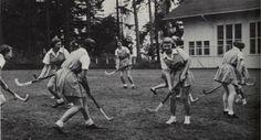 Oregon women's field hockey 1952. From the 1952 Oregana (University of Oregon yearbook). www.CampusAttic.com