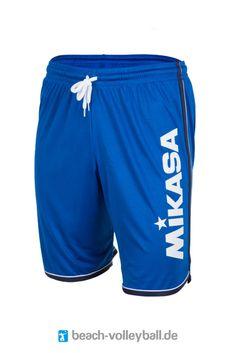 """Super bequeme und stylische Short aus 100% Polyester. Die Mikasa """"Crystal"""" gibt es in mehreren flouriszierenden Farbvarianten, die garantiert für ein paar neugierige Blicke sorgen! Ein Hingucker ist auch das beach-volleyball.de/academy Logo hinten auf dem Bein. #beachvolleyball #beachwear #short #beachshort Beach Volleyball, Mikasa, Men Beach, Beach Wear, Super, Gym Men, Logo, Sports, How To Wear"""