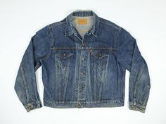 Hey, I found this really awesome Etsy listing at https://www.etsy.com/listing/523493719/levis-jean-jacket-48-vintage-levis-jean