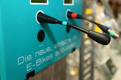 Stromladung für eBikes perfekt konfektioniert