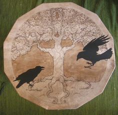 Yggdrasil drum, very cool depiction for tattoo idea
