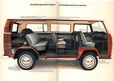 1970 VW BUS Brochure