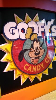 Goofy's Candy Company Isabella's favorite place!!