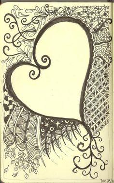 Art Journaling - Zentagles