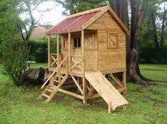 casas de madera para niños precios - Buscar con Google Garden Playhouse, Wendy House, Building Furniture, Picnic Table, Play Houses, Ideas Para, Playground, Diy And Crafts, Shed